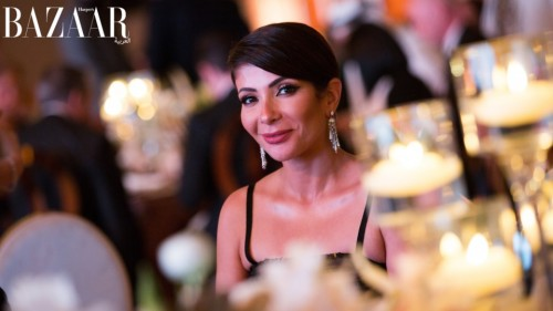 منى زكي تشارك في مهرجان Abu Dhabi Dream Ball لجمع تبرعات للاجئين