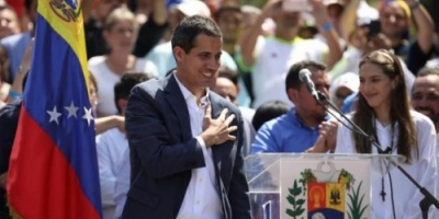 """واشنطن ترحب باعتراف 14 دولة أوروبية بـ""""جوايدو"""" رئيسا انتقاليا لفنزويلا"""
