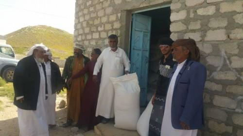 الهلال الأحمر الإماراتي ومركز الملك سلمان ينعشان الثروة الزراعية بالمهرة