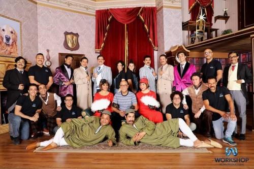 """أشرف عبد الباقي يستعد لعرض """" مسرحية كلها غلط """" ببورسعيد"""