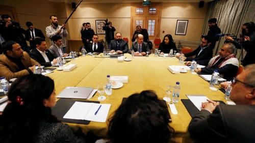 بدء اجتماع الحكومة ومليشيا الحوثي بالأردن.. وغريفيث يكشف عن أهداف الجولة