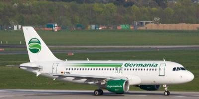"""شركة """"جيرمانيا"""" للطيران بألمانيا تعلن إفلاسها"""
