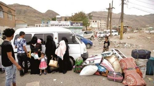 بمصادرة الأموال والغداء.. نازحو الحديدة تحت رحمة مليشيا الحوثي في صنعاء