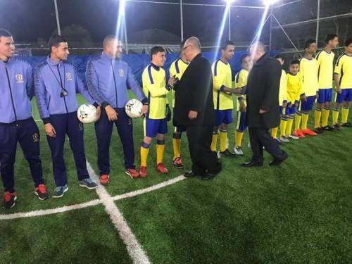 افتتاح أول نادي كرة قدم لمرضى السرطان في فلسطين