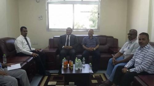 وزير النفط يستعرض مع مدير عام هيئة المساحة الجيولوجية نشاط العام