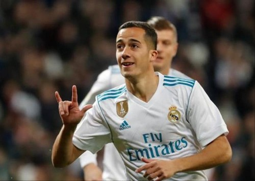 فاسكيز يسجل الهدف الأول لصالح ريال مدريد في شباك برشلونة