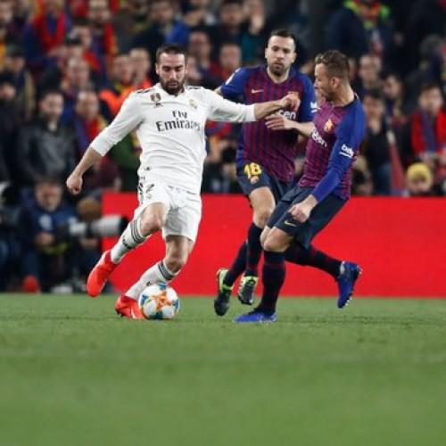 ريال مدريد يتعادل مع برشلونة 1-1 في ذهاب نصف نهائي كأس الملك