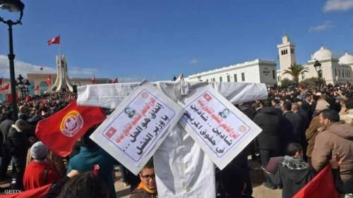 تونس.. المعلمون يتظاهرون والطلاب يتخوفون من خسارة السنة الدراسية