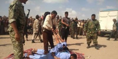 السلطات الأمنية تنفذ حكم الإعدام بحق مغتصبي وقاتلي طفل عدن (صور)