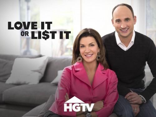 شبكة HGTV تعلن عن مد البرنامج التلفزيوني Love It or List It