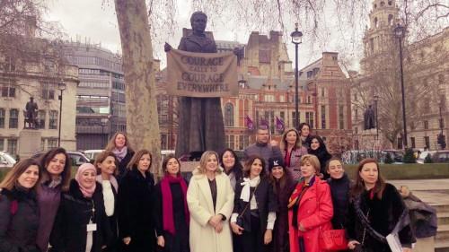 أليسون: تفعيل دور المرأة في الحياة السياسية مهم جدا