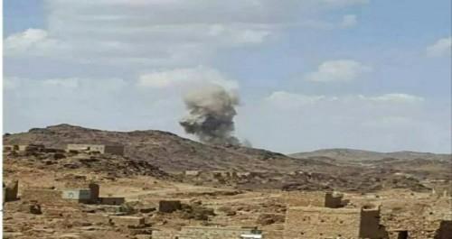 إصابة طفلين جراء قصف حوثي جنوب دمت بالضالع