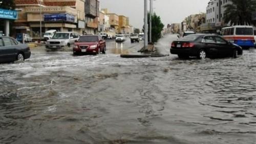 """هاشتاج """" السيول """" يجتاح تويتر في مصر"""
