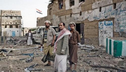 انتفاضة شعبية ضد الحوثيين في مديرية الحشاء . صد هجوم وأسر عناصر