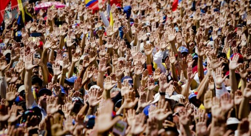 الصين: الشعب الفنزويلي يجب أن يقرر مصير بلاده بنفسه
