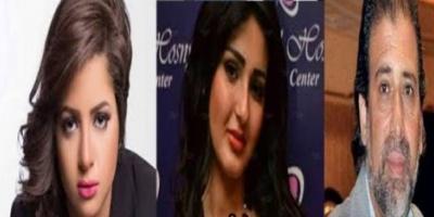 خالد يوسف وشيما الحاج ومنى فاروق.. القصة الكاملة (صور)