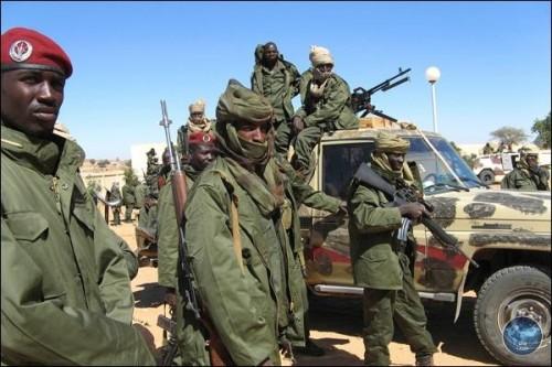 الجيش التشادي يأسر 250 إرهابياً قادماً من ليبيا