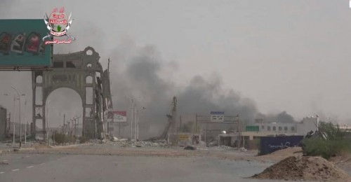 مليشيات الحوثي تستهدف مواقع القوات المشتركة في مختلف مناطق الحديدة