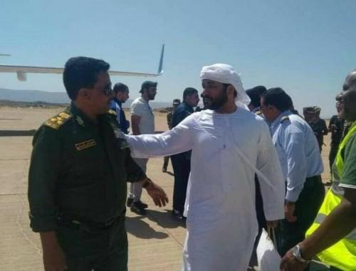زيارة خاصة من مسؤولين بارزين لقطاع الأمن بمحافظة سقطرى لهذا السبب