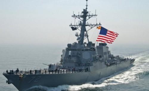 أمريكا تطلق سفينتين حربيتين في بحر الصين الجنوبي