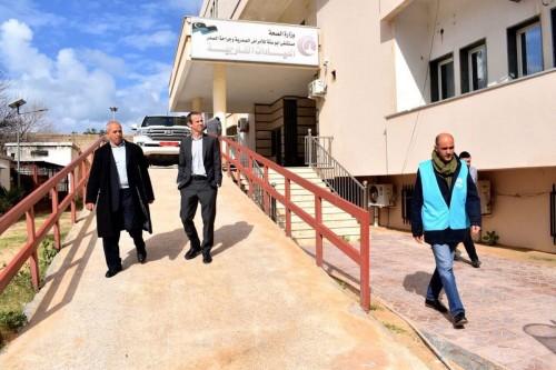 مفوضية اللاجئين تُعيد تأهيل مستشفيات ليبيا