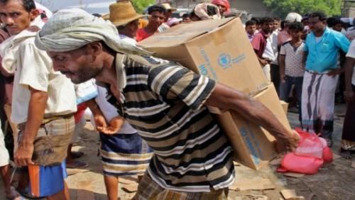 إفساد المساعدات الغذائية.. جريمة جديدة للحوثي باليمن