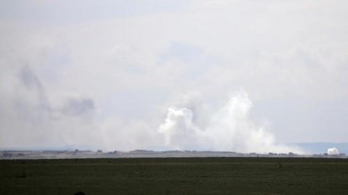 سوريا.. مقتل 16 في غارات التحالف الدولي على بلدة الباغوز