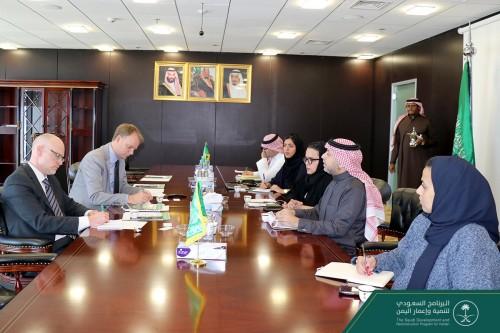 البرنامج السعودي يستعرض مشروعاته التنموية والإعمارية في اليمن