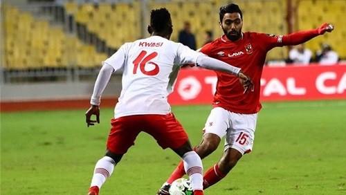 نتيجة وأهداف مباراة الأهلي وسيمبا اليوم 1-0 في دوري ابطال افريقيا