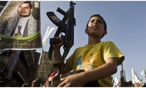 """حساب """"تأهيل أطفال التجنيد"""" يوجه دعوة بشأن الحروب (تفاصيل)"""