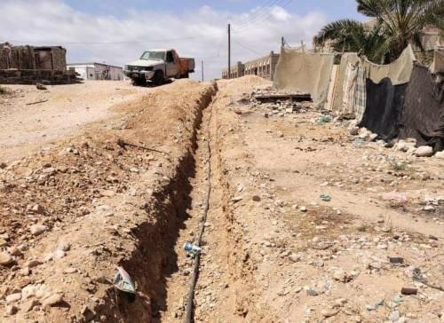 مشروع لمد مياه الشرب النظيفة إلى مناطق سيحوت والمسيلة بالمهرة