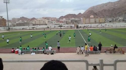 """نادي التضامن يفوز على وحدة المكلا 3-0 بـ""""دوري المجلس الانتقالي"""""""