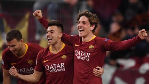 روما يفوز على بورتو 2-1 في دوري أبطال أوروبا