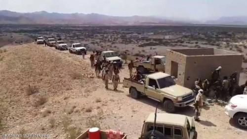 الحزام الأمني بأبين يدفع بتعزيزات كبيرة إلى المحفد