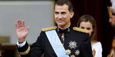 وصول ملك إسبانيا وزوجته إلى العاصمة المغربية