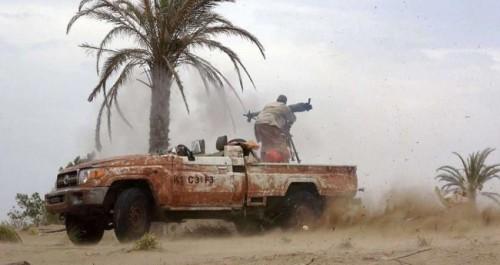 مليشيات الحوثي تكثف قصفها المدفعي على مواقع القوات المشتركة بالحديدة