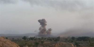 مصادر: مقاتلات التحالف تساند قبائل عذر بضربات قاصمة لمليشيا الحوثي
