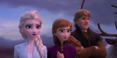 شاهد الإعلان الأول لفيلم الأنيمشن والمغامرات Frozen 2