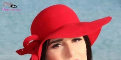 بدبدوب وفستان أحمر.. هكذا احتفلت ميرنا وليد بعيد الحب (صور)