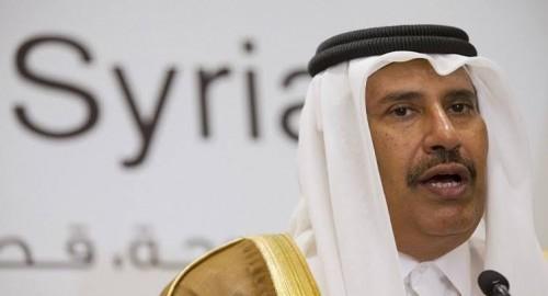 صحفي سعودي يُحرج حمد بن جاسم بتساؤل عن إسرائيل