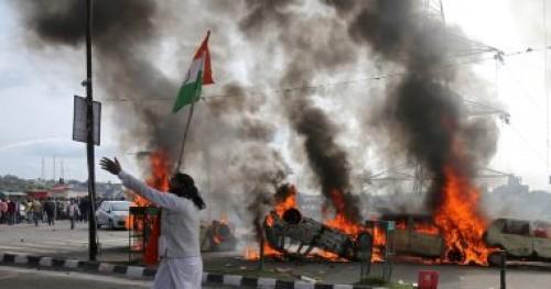 الهند تفرض حظر التجول في جامو خوفا من وصول الاحتجاجات لها