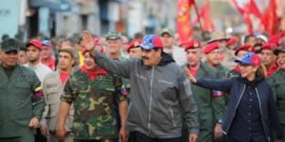 مادورو: سأعيد بناء الاقتصاد الفنزويلي وعلى ترامب رفع يده عن بلادنا