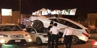 مصرع 9 أشخاص وإصابة 14 في حادث سير شمالي العراق