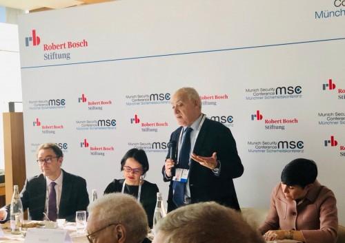 سلامة يشارك في حلقة نقاشية ضمن مؤتمر ميونخ للأمن