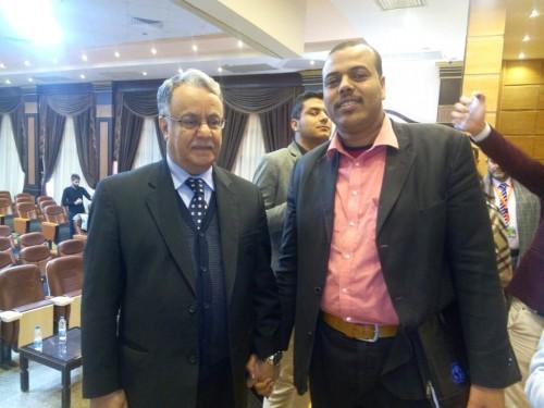 الحضرمي يادين يستعرض مبادرته الخاصة باللاجئين في ندوة دولية بالقاهرة