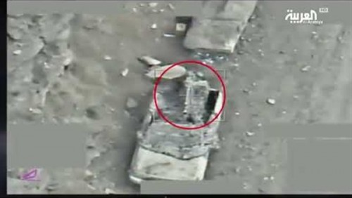 شاهد.. طائرات التحالف تدمر أهدافا ومخازن أسلحة حوثية (فيديو)