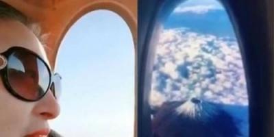 """بعد """" كيكي """".. تحدي شباك الطائرة يجتاح مواقع التواصل الاجتماعي"""