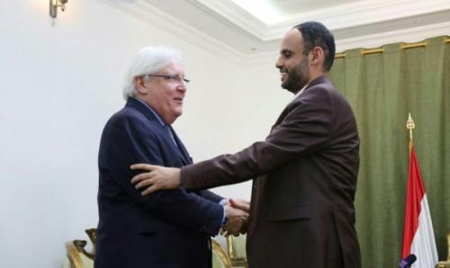 كواليس زيارة مارتن غريفيث إلى صنعاء للمرة الثانية (خاص)