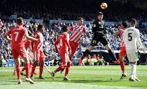 حارس ريال مدريد: كنت قريب من تسجيل هدف اليوم