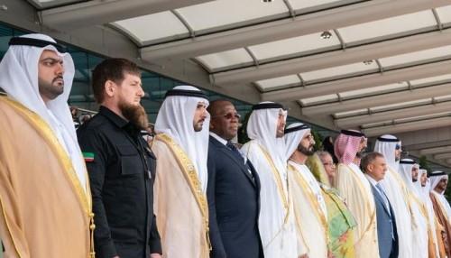 "بالصور.. حاكم دبي وولي عهد أبو ظبي يشهدان حفل افتتاح معرض ""آيدكس"""